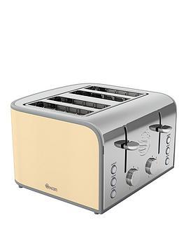swan-retro-4-slice-toaster-cream