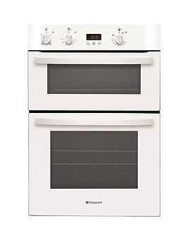 hotpoint-newstyle-dh53ws-60cm-built-in-electric-double-oven-white