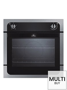 new-world-nw601f-60cm-built-in-single-electric-oven-stainless-steel