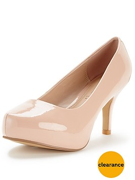 so-fabulous-pitillo-mid-heel-patent-platform-shoes-extra-wide-fit-nude