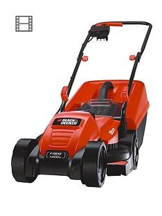 Black & Decker EMAX32S-GB 1200-Watt, 32cm EdgeMax Lawn Mower