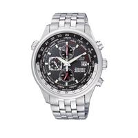 5c881473f08 Citizen Eco-Drive Red Arrows Chronograph World Time Bracelet Mens Watch |  very.co.uk