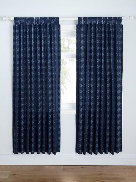 catherine-lansfield-stars-amp-stripes-lined-curtains