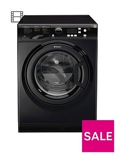 Hotpoint Extra WMXTF942K 9kg Load, 1400 Spin Washing Machine - Black