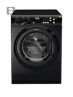 Hotpoint Extra WMXTF942K 9kg Load, 1400 Spin Washing Machine - Black