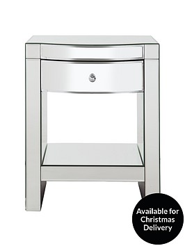 curved-mirror-bedside-table