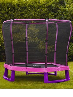 plum-7ft-junior-trampoline-and-enclosure-pinkpurple