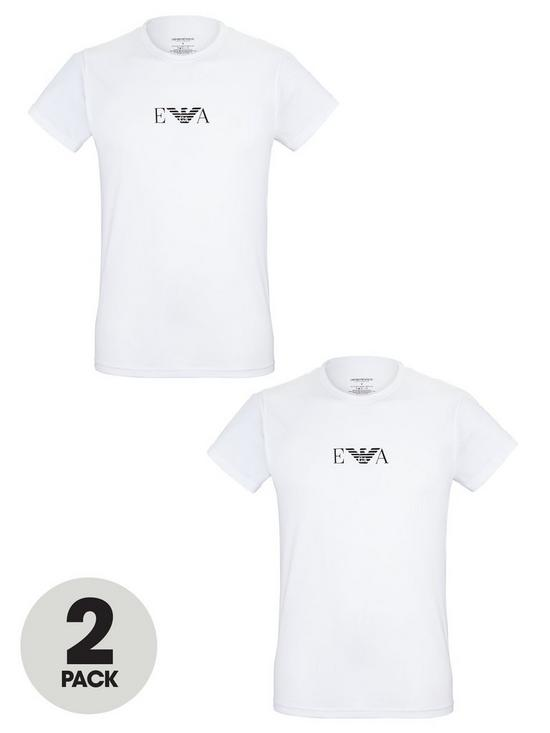 c7fb5c18 Emporio Armani Bodywear Mens T-shirts (2 Pack) | very.co.uk