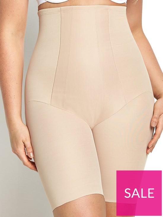 54aeadf0678c Miraclesuit Shape with an Edge Hi-Waist Long Leg   very.co.uk