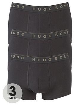 boss-bodywear-core-3-pack-trunks-black