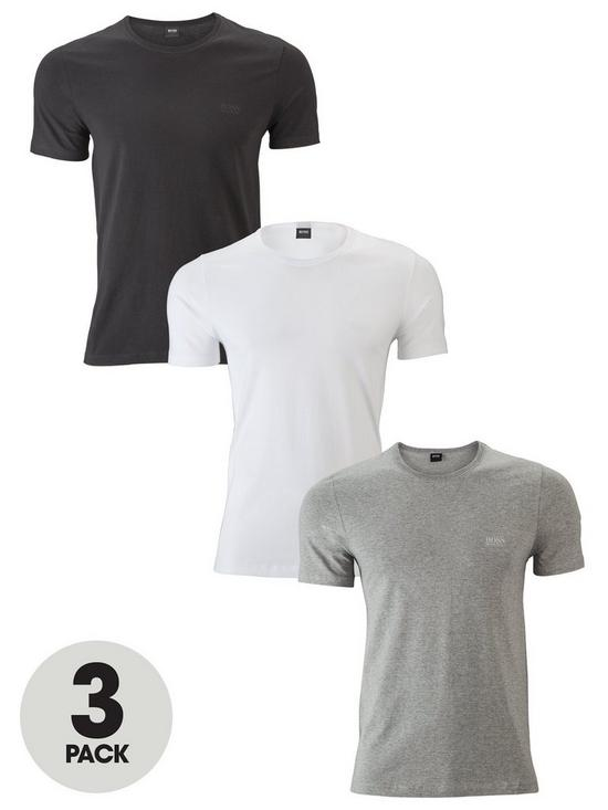 28016c9670b BOSS Core 3 Pack T-Shirts | very.co.uk