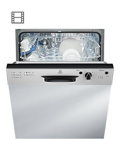 indesit-dpg15b1nx-13-place-full-sizenbspintegrated-dishwasher-with-quick-wash-silver