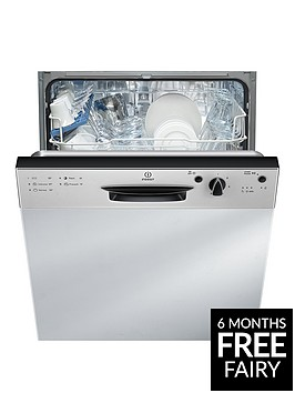 indesit-ecotime-dpg15b1nx-13-place-full-sizenbspintegrated-dishwasher-with-optional-installation-silver