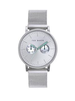 ted-baker-silver-dial-stainless-steel-mesh-bracelet-mens-watch