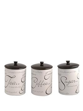 price-kensington-script-tea-coffee-and-sugar-canister-set