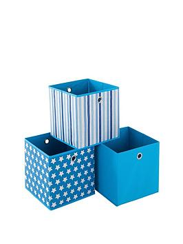 Photo of Ideal stars set of 3 kids storage boxes