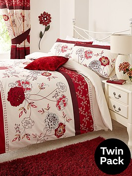 fern-bedding-range-red-twin-pack