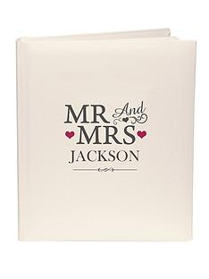 personalised-mr-and-mrs-photo-album
