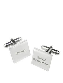 personalised-wedding-cufflinks