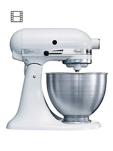 KitchenAid K45SS Classic Stand Mixer - White