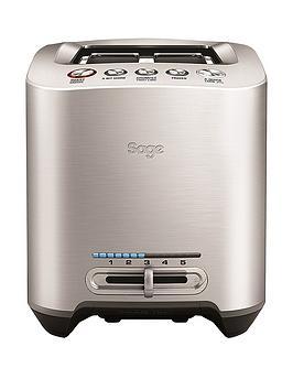 Sage Bta825Uk 2-Slice Smart Toaster - Brushed Stainless Steel thumbnail