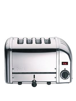 Dualit 40352 Vario 4-Slice Toaster – Polished Stainless Steel