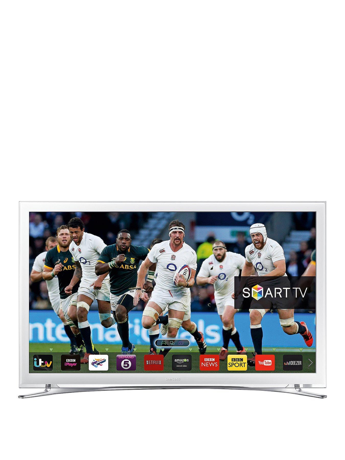 samsung tv deals. samsung ue22f5610 22 inch full hd smart led tv - white tv deals