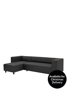 clarke-faux-leather-3-seater-left-hand-chaise