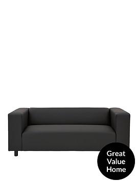clarke-faux-leather-3-seater-sofa