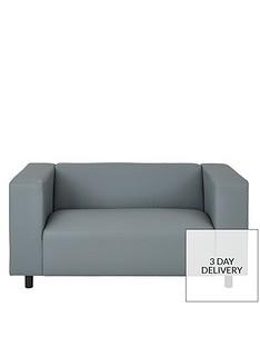 Grey Leather Sofas Sofas Home Garden Www Very Co Uk