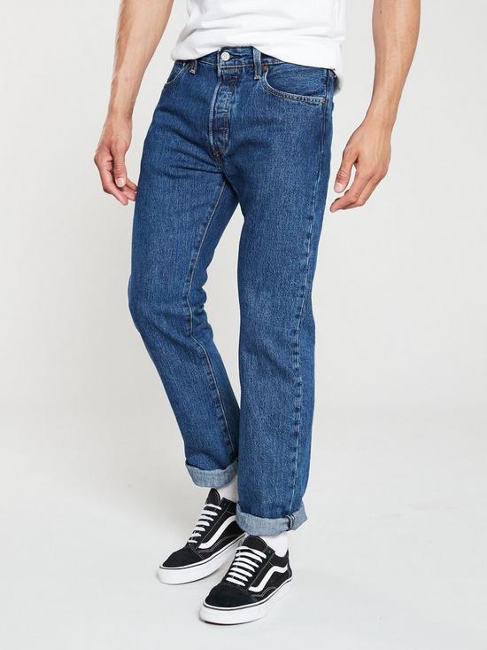1c5cd9c5f42be3 Levi's 501 Original Fit Jeans - Stonewash | very.co.uk