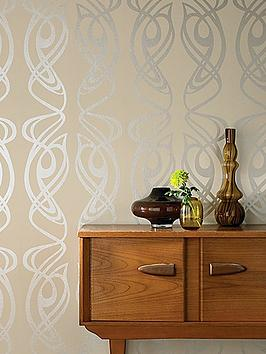 barbara-hulanicki-graham-brown-blue-label-diva-wallpaper-cream