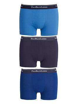 Polo Ralph Lauren Core Trunks (3 Pack), Blues, Size S, Men thumbnail