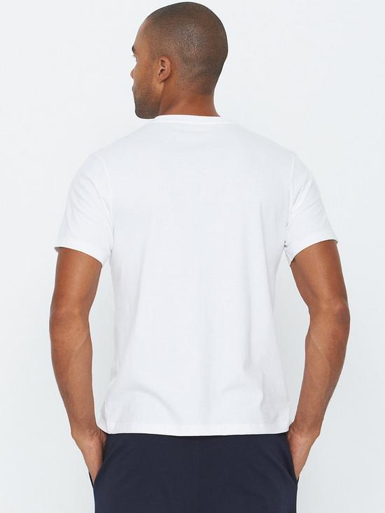 d8c5550f382f Mens Single Logo T-shirt - White
