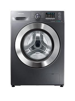 Samsung Wf70F5E2W4X/Eu 7Kg Load, 1400 Spin Washing Machine With Ecobubble&Trade; Technology - Inox Review thumbnail