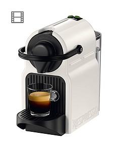 Nespresso XN100140 Inissia Coffee Capsule Machine by Krups-White