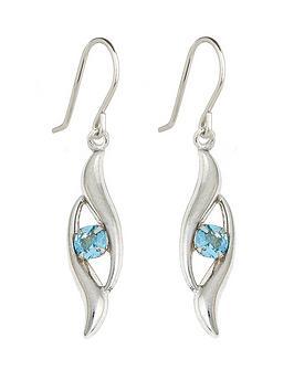 love-gem-9-carat-white-gold-blue-topaz-drop-earrings