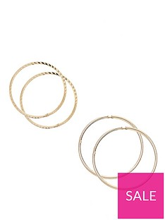 3770084bc 9ct Yellow Gold | Hoop Earrings | Up to 30% Off Selected Gold ...