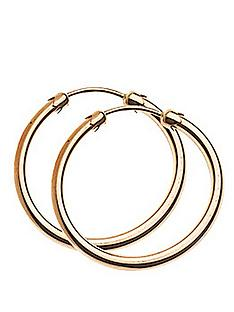 love-gold-9-carat-rose-gold-20-mm-plain-capped-tube-hoop-earrings