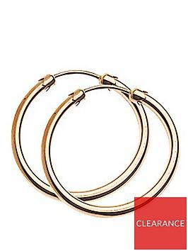 love-gold-9-carat-rose-gold-20-mm-plain-capped-tube-hoop-earrings