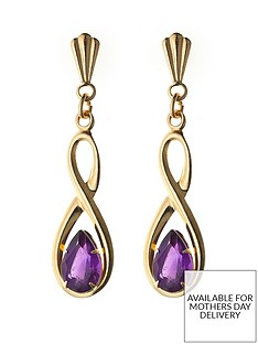 love-gem-9-carat-yellow-gold-figure-of-8-amethyst-dropper-earrings