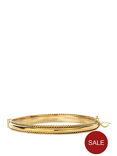 love-gold-9-carat-yellow-rolled-gold-cord-edged-patterned-hinged-bangle-with-a-safety-chain