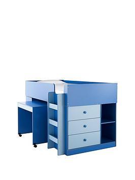 ladybird-orlando-mid-sleeper-bed-desk-and-storage-with-optional-mattress