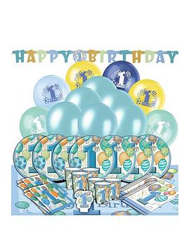 boys-1st-birthday-balloons-party-kit-for-16