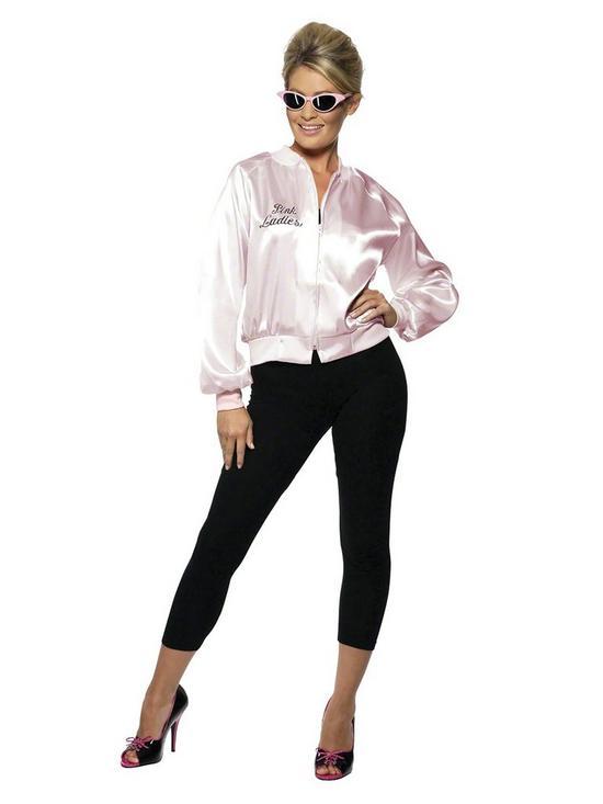 c283cabf184ae Grease Pink Ladies Adult Jacket - Adult Costume