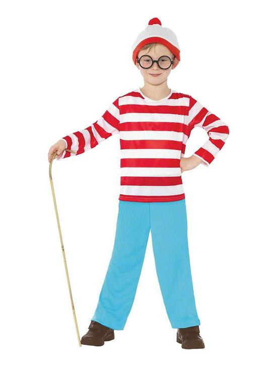 0ca142531b3 Where s Wally Where s Wally - Child s Costume