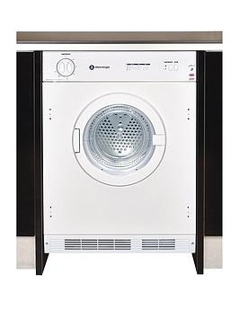 White Knight C43Aw 6Kg Load Integrated Vented Tumble Dryer - White