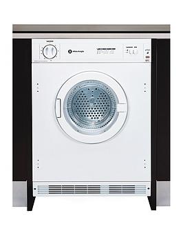 White Knight C4317 7Kg Load Integrated Vented Tumble Dryer – White