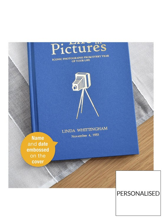 394e07c12ce0d Personalised Your Life In Pictures Book