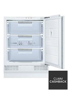 Bosch Serie6GUD15A50GB60cm Built-inUnder Counter Freezer - White